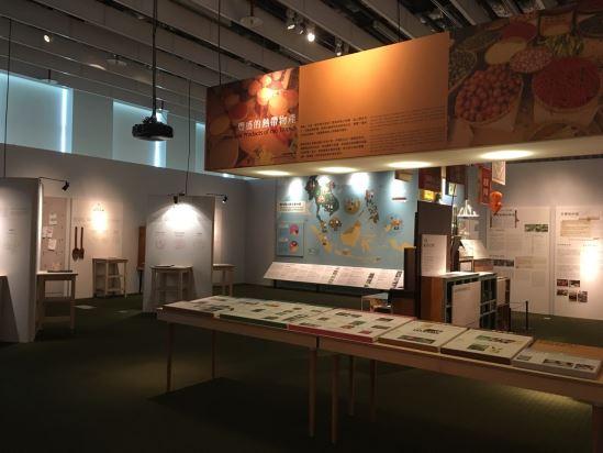 展覽內介紹東南亞豐富的熱帶物產,地理氣候、風土環境、歷史文化都影響著各地的飲食文化發展