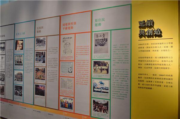 1990年代之後多元議題的學生運動/社會運動
