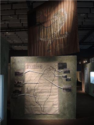 日軍攻臺路線圖