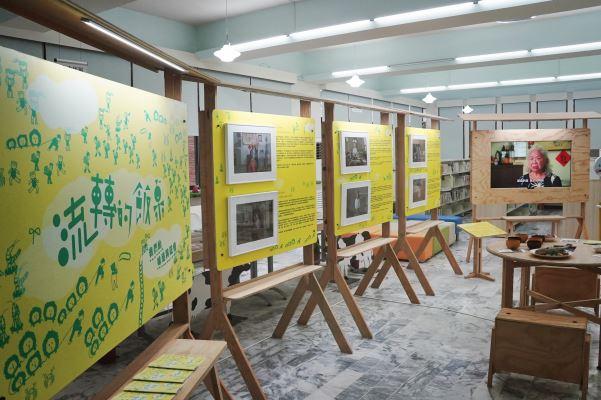 柳營站-2.一樓大廳展示
