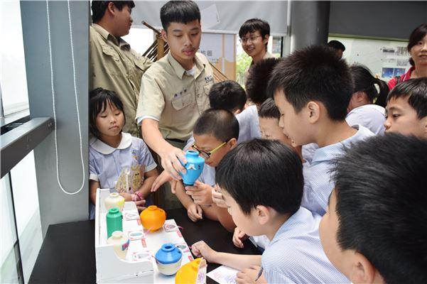 運用3D列印聞香瓶讓小朋友猜猜安平壺可能裝什麼