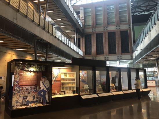 展覽以手繪插畫方式,搭配主題時間軸,講述臺灣租書店的變遷發展