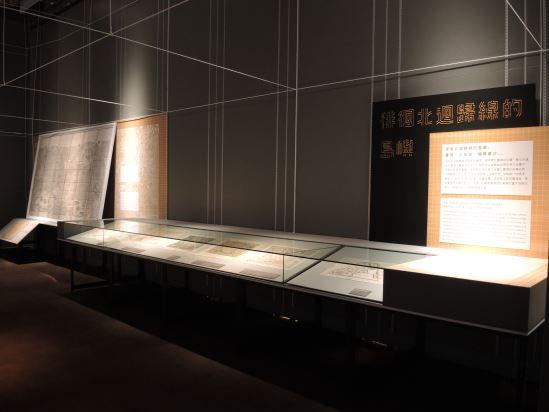 03.本單元帶領觀眾在點與線之間,看到西方地圖裡臺灣的出現與演變過程