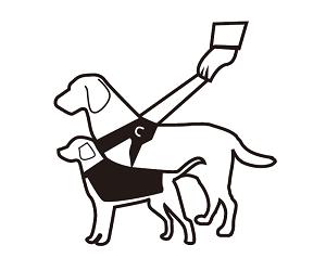 導盲犬的符號