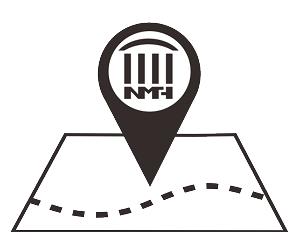 展示教育大樓無障礙地圖的符號
