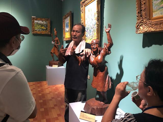 九九峰傳奇人文藝術館(一代文創工坊)王信一木藝師分享創作歷程