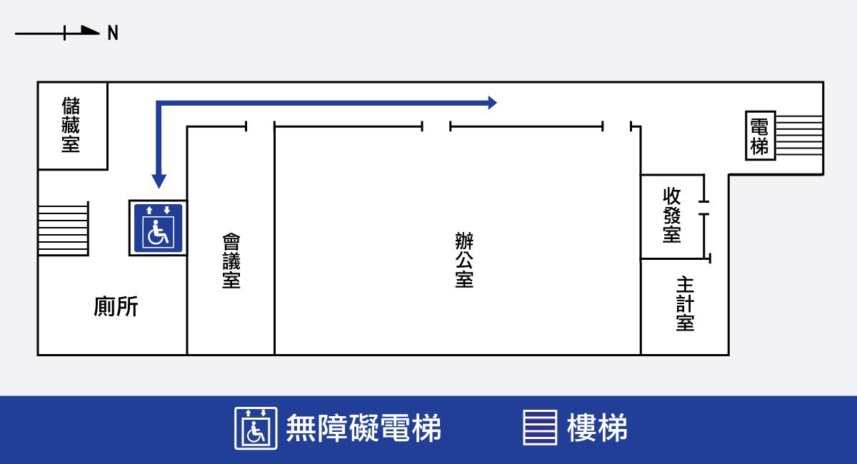 行政活動館六樓平面圖