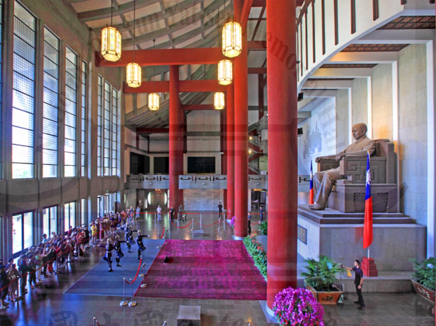國父紀念館大廳照片