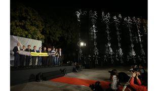 國美館「2021臺灣國際光影藝術節」以黑暗之光照亮希望