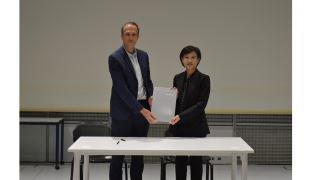 鄭麗君赴法簽署合作意向書 法國音樂與聲響研究中心將來臺於C-LAB合作設立實驗室
