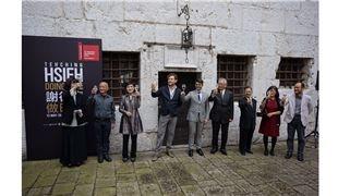 文化部長首度出席威尼斯雙年展臺灣館開幕 深受謝德慶藝術實踐哲學感動