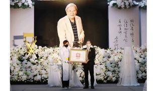 李行導演辭世 文化部長李永得代表頒贈總統褒揚令