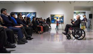 國美館「林惺嶽:大自然奇幻的光影」展 解譯林惺嶽繪畫中的時代經驗