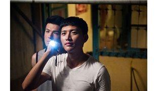 《金穗獎電影短片在文化百老匯》「二極發光體」、「小溪邊的沙灘」、「神算」