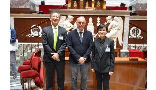 文化部長鄭麗君參訪法國國民議會