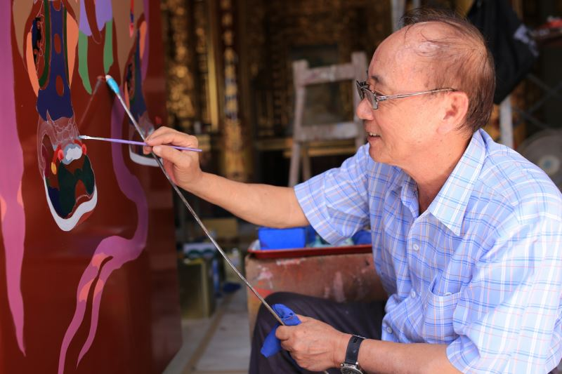 Decorative Painter of Traditional Architecture | Hung Ping-shun