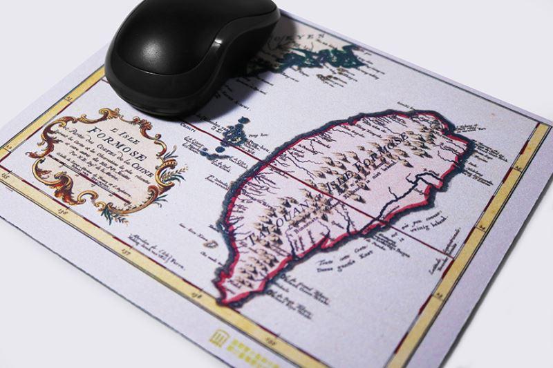 地圖滑鼠墊2-1730年