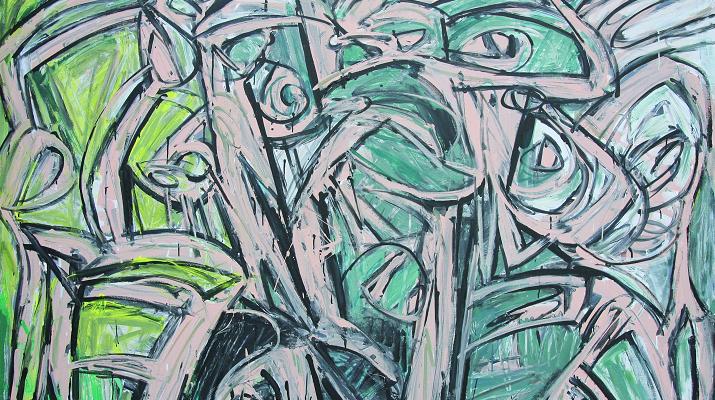 臺灣藝術家吳炫三「南太平洋的傳奇」紐約首度個展