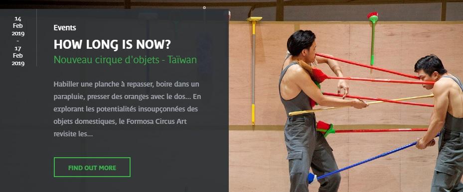 Contemporary circus troupe to perform in Paris museum