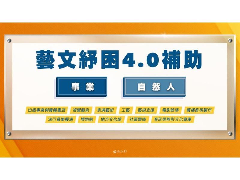 Ministerio de Cultura promete que los Fondos de ayuda 3.0 (紓困3.0) incluirán a trabajadores de distintos ámbitos culturales