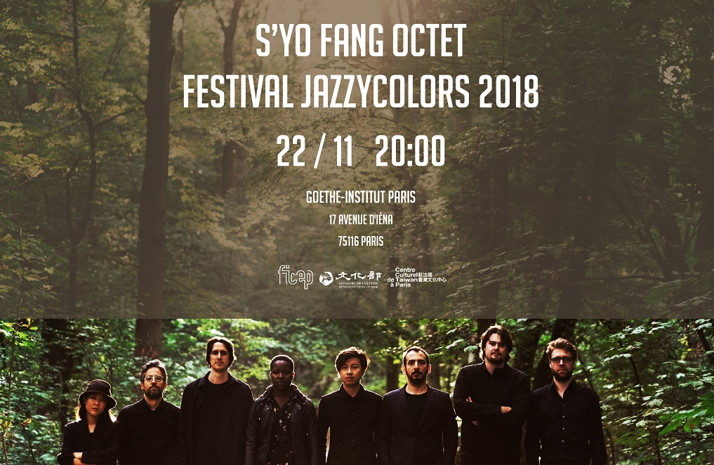 Taiwan musician-led jazz octet booked for Jazzycolors in Paris