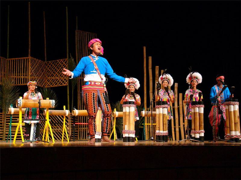 民間傳統藝術展演推廣計畫─ Amis旮亙樂團