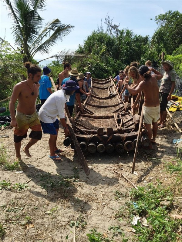 Bamboo raft project to test Taiwan-Japan migration theory