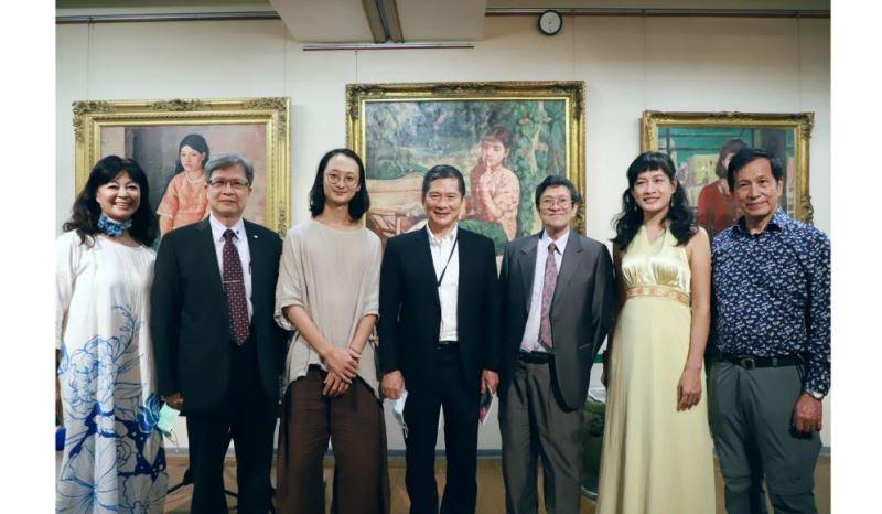 2020李梅樹月間 展覧会「繁花盛開 美術史の中の『三国志演義』」開幕式