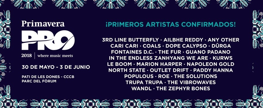Taiwan pop, punk bands to perform at Barcelona's Primavera Pro