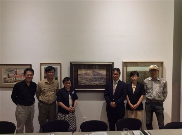Japan-influenced Taiwanese paintings unveiled in NYC