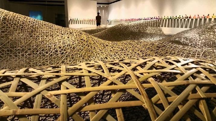 高美館海外展「再織」3月30日皇后社區大學藝廊盛大開幕