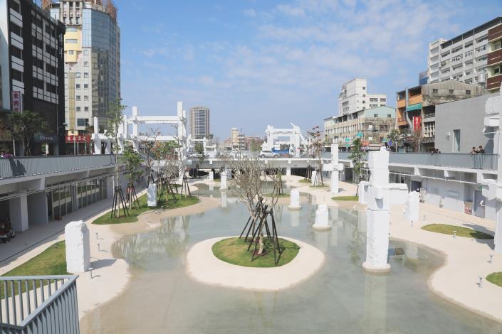 La plaza Spring de Tainan