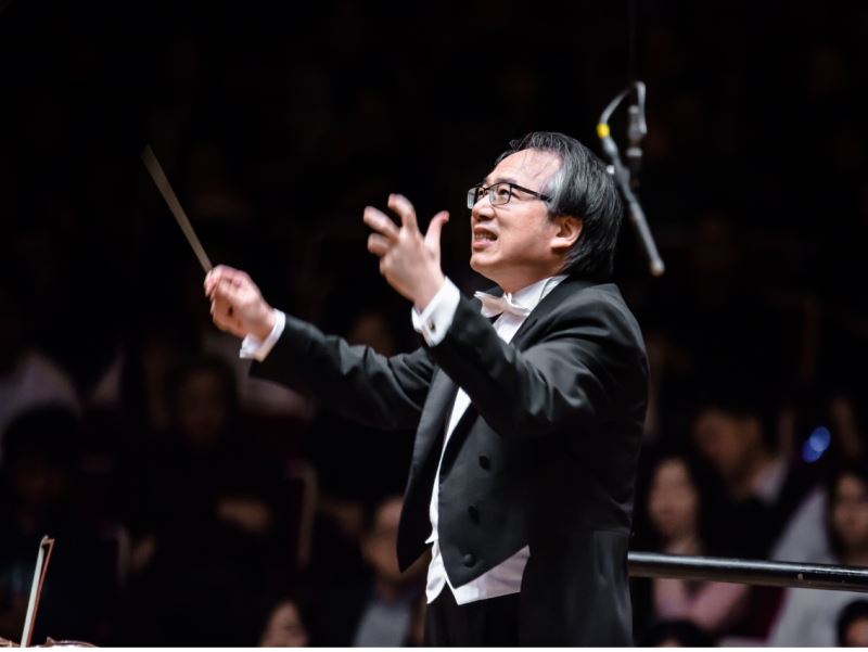Taiwan Philharmonic tours performances in Costa Mesa and San Diego of California