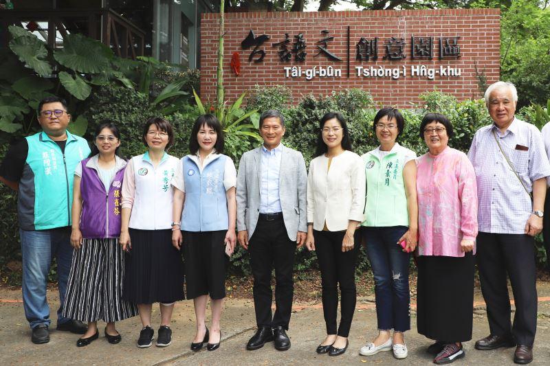 Ministro de Cultura Lee Yung-te promete profundizar desarrollo de cultura local durante su visita a tres recintos culturales en Changhua