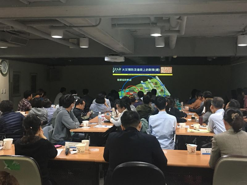 Meeting held to improve disaster readiness of Taiwan's museums