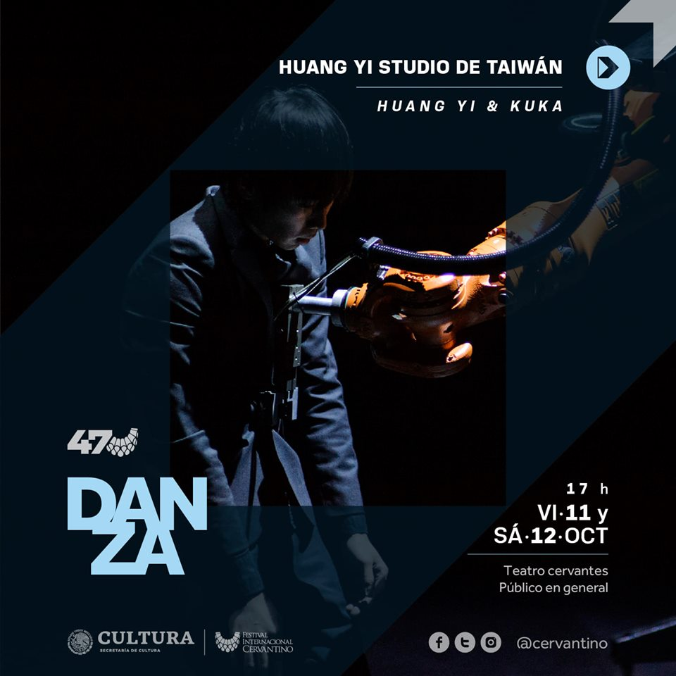 Taiwanese choreographer and his robot to present duet in Mexico