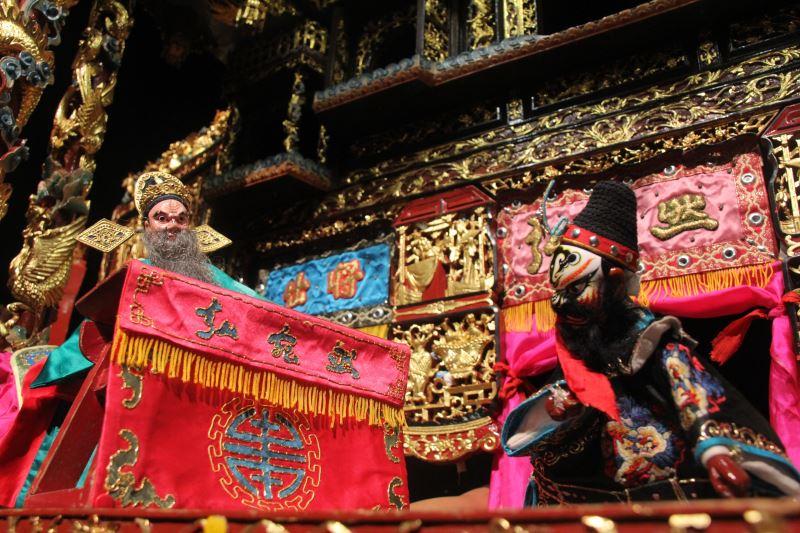 弘宛然古典布袋戲團-「107年重要傳統藝術保存者(團體)接班人傳習演出計畫」
