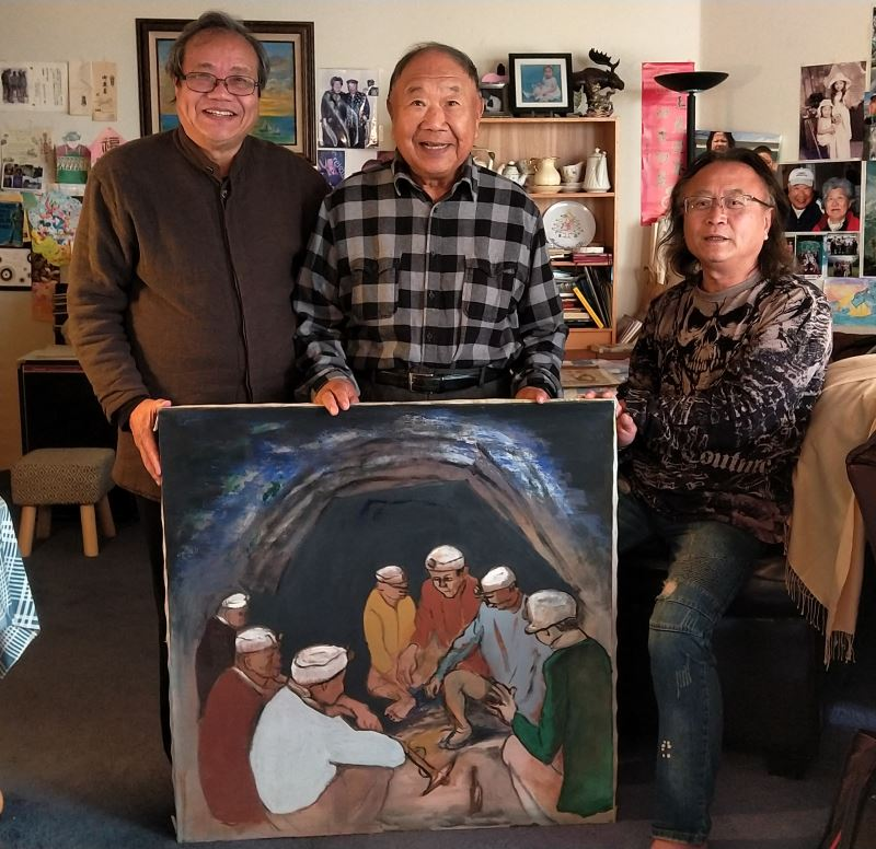"""渡米した画家の作品、台湾""""帰郷""""へ 鄭文化相「美術史再建」への意欲強調"""