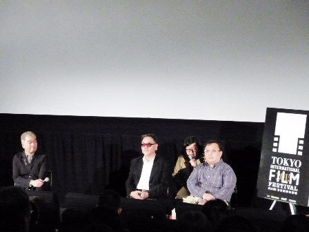 「東京国際映画祭」で王童監督が上映後のトークイベントに登場