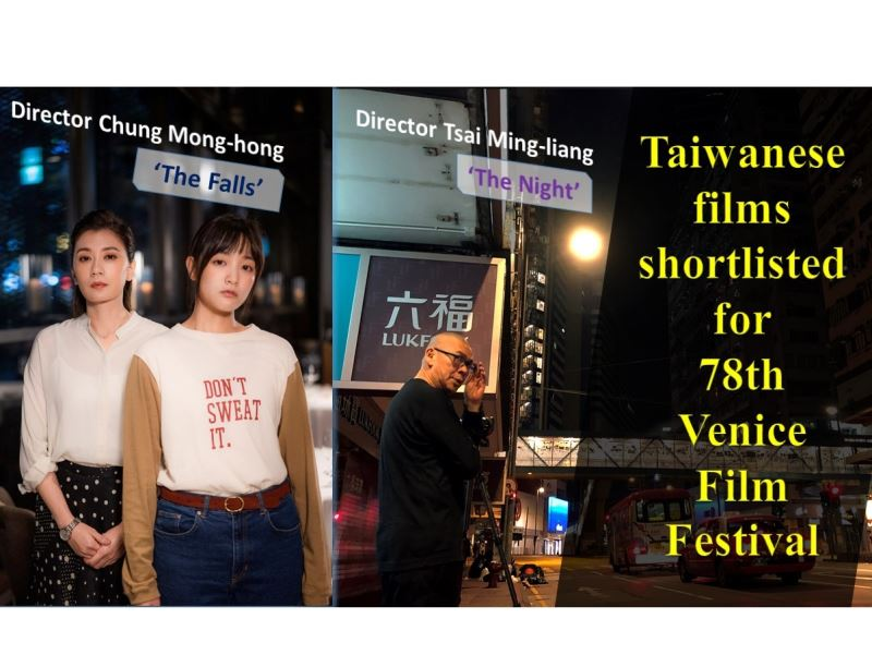 Venice Film Festival to feature two Taiwanese films