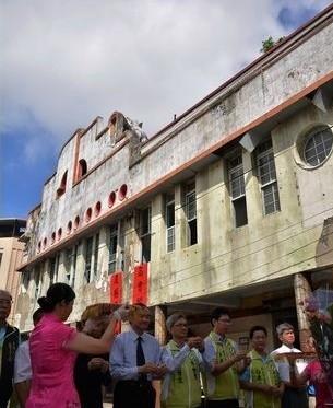 彰化に残る日本統治時代の建物、再活用へ 修復工事着工