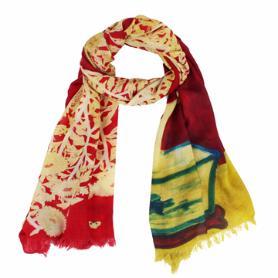 常玉菊圍巾