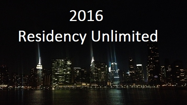 2016 Residency Unlimited Winners Announced