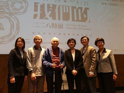 文化部長「全台湾人共通の歴史に」=2・28事件 来年で70年