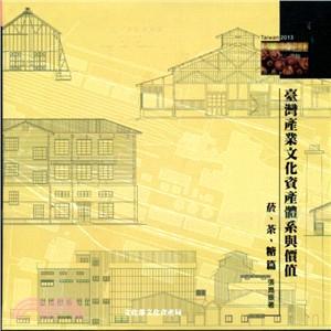 臺灣產業文化資產體系與價值 菸、茶、糖篇