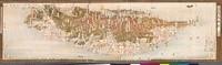 臺灣鳥瞰圖A (52.4x14.7cm)