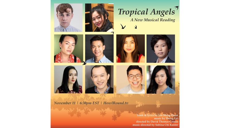 《Tropical Angels》A New Musical Reading & Panel Discussion: From West to East, How Musical Theatre Has Transformed?
