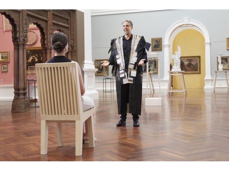 Première présentation des créations taïwanaises au musée d'art Ateneum