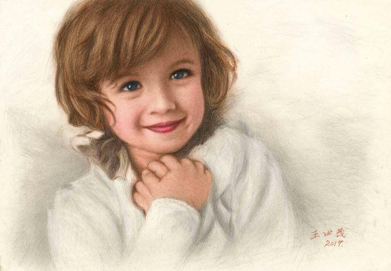 「肖像、人物繪畫的90翫童」西畫展