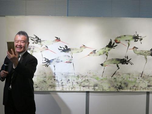 創造的民俗画家-曽郁文